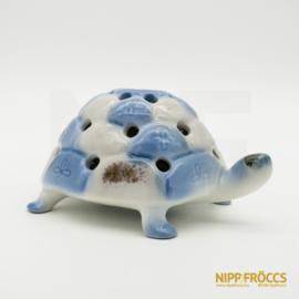 Aquincumi porcelán - Aquazúr teknős