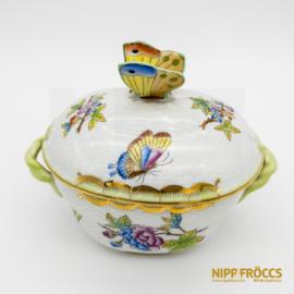 Herendi porcelán - Pillangós bonbonier